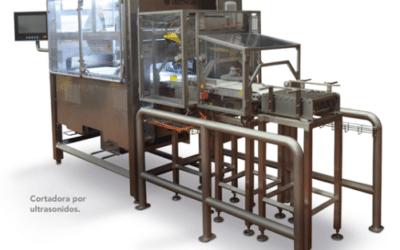 Cortadora ultrasonidos para barras de queso a peso fijo